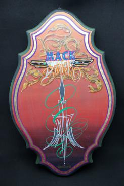 #107, Exclusive, Japan - Yokohama Kustom Paint Festival 'The Mack Brush Art Show 2010 Winner'