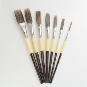 Mack Grey Stroke Lettering Brush
