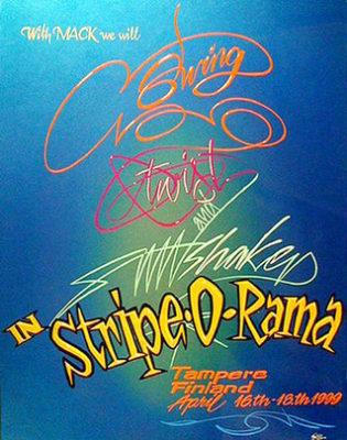 #67 Pekka 'Wizzard' - Finland, Stripe-O-Rama Spring 1999
