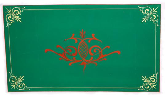 #98 Ian Stewart. Green Panel with red pinstriping. Via Perenga Australia.