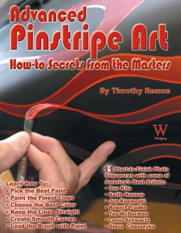 Advanced Pinstripe Art Book Apa Mack Brush