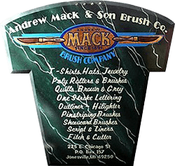 Mack Brush We Are The Originators Of The Pinstriping Brush And We Feel That We Still Give You The Very Best Brush In The World