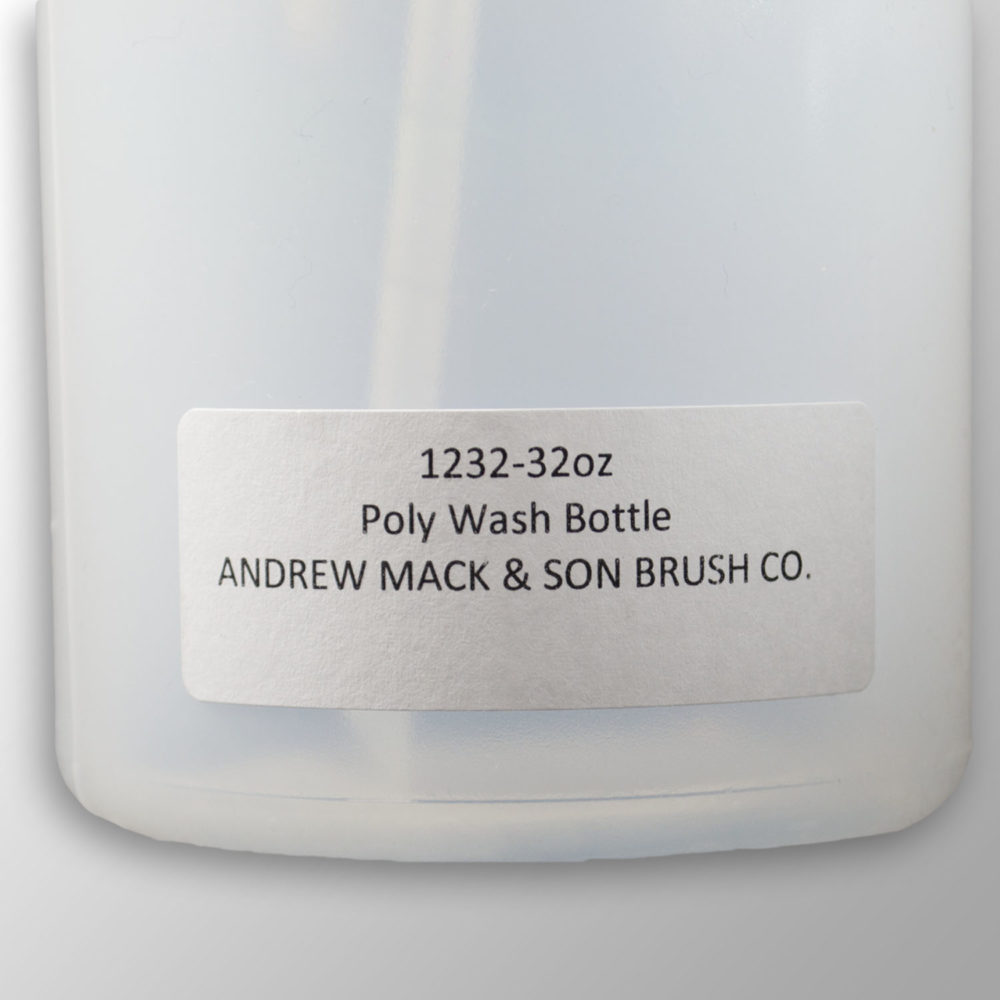 32oz polyethylene wash bottle