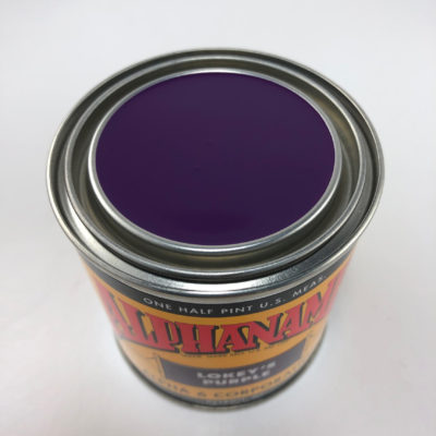 A6P-Purple-1/4 P LOKEY'S Purple Alphanamel - 4 oz.