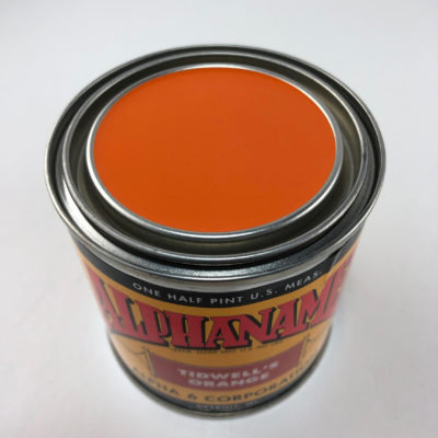 A6P-Orange-1/4 P TIDWELL'S Orange Alphanamel - 4 oz.